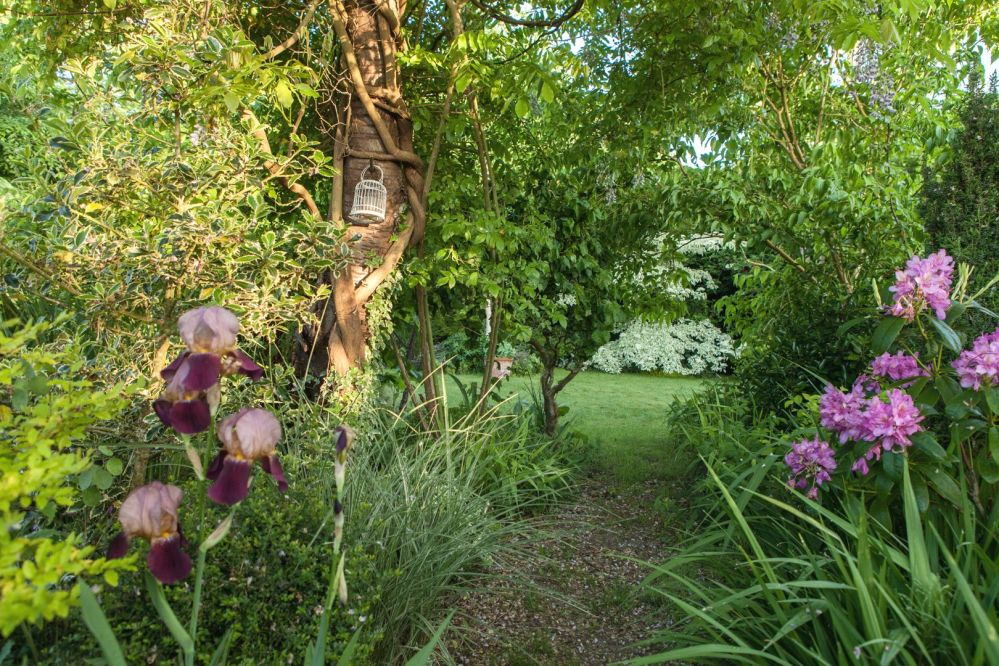 Jardin, Garten, Olga Nasaroff, Méré, Frankreich France