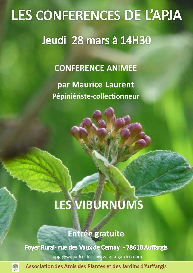 Affiche APJA CONF Maurice Laurent 2019 V2