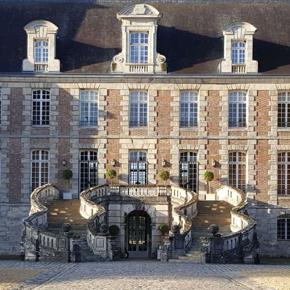 courance chateau